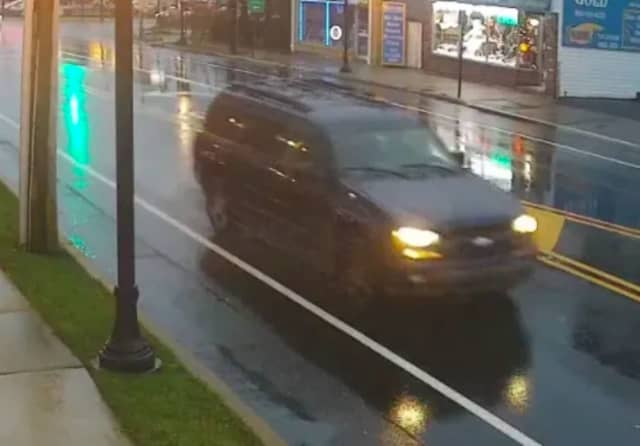 Surveillance video caught this image of an SUV suspected to be involved in a fatal hit-run crash earlier this month.