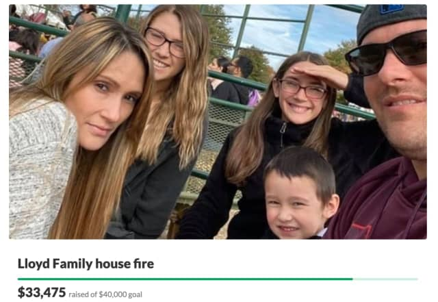 Support is surging for a Morris County family whose home was ravaged and destroyed in a two-alarm fire Sunday night, causing them to lose all of their possessions.