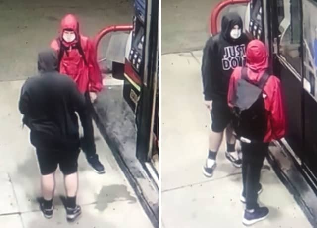 KNOW THEM? Police in Warren County are seeking the public's help identifying two meninvolved in an unspecified incident at a local gas station.