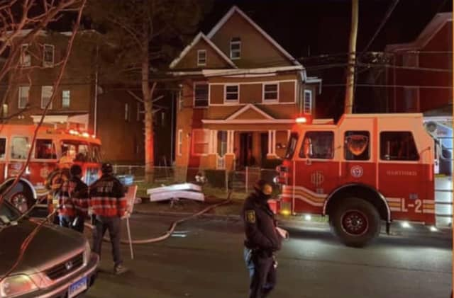 Three families were left homeless following a fire at a multi-family home.