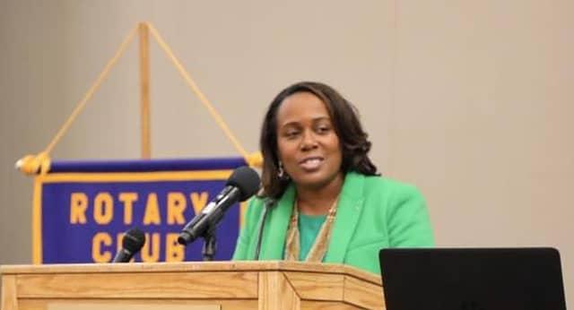 Superintendent Katrina McCombs