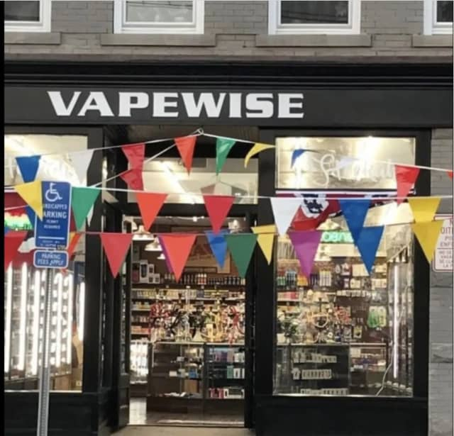 Vapewise was one of several businesses busted for allegedly selling vaping/nicotine products to minors.