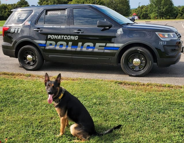 Pohatcong Township Police and K-9 Xeus