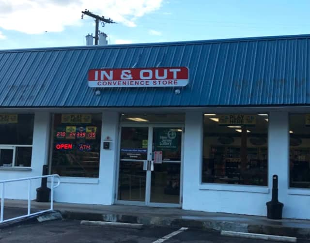 In & Out Convenience Store on Baltimore St. in Phillipsburg