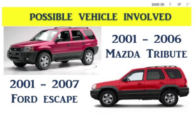 Camden County detectives say a vehicle similar to these ones was involved in a fatal hit-and-run crash on Wednesday.