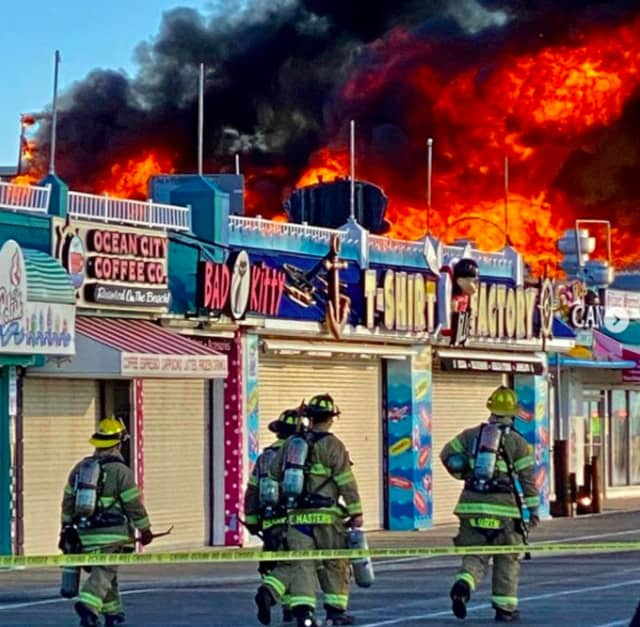 Playland Castaway Cove went up in flames Saturday, Jan. 30.