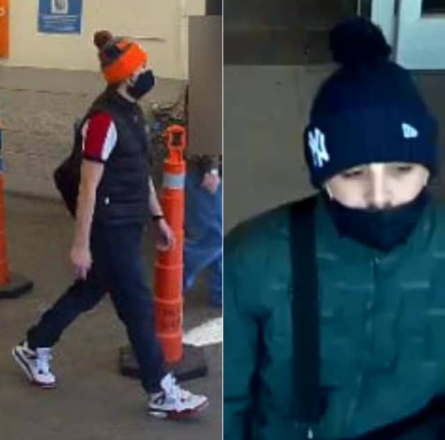 Police in Bethlehem are seeking the public's help identifying two men they say stole a wallet from a ShopRite customer and fraudulently used the credit cards inside.