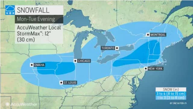 A pair of winter storms are threatening the region with more snow this week.