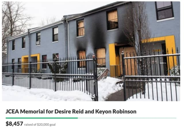 Support is surging for the family of an 11-year-old girl and her 8-month-old baby brother who died in a Jersey City fire Thursday morning.