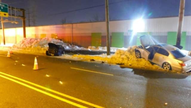 Paterson Plank Road crash