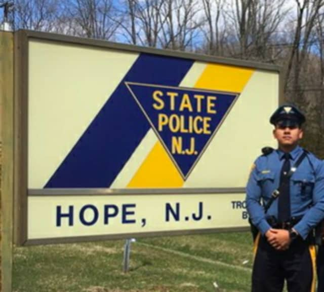 New Jersey State Trooper Roy Sanchez