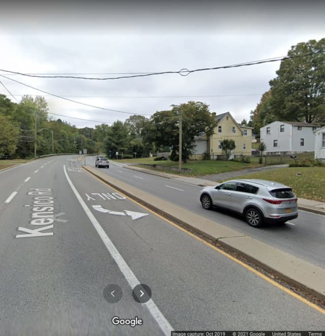 Sarah Lynch died after crashing near the intersection of Kensico Road and Linda Avenue in Mount Pleasant.