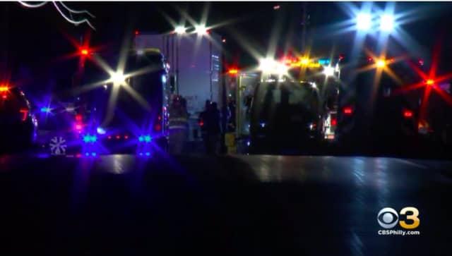 Gloucester County fatal crash scene