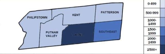 The Putnam County COVID-19 breakdown on Tuesday, Feb. 23.
