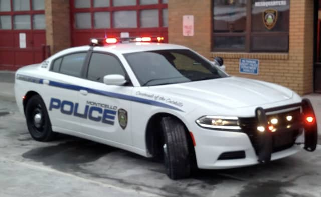 A Sullivan County man was nabbed after taking Monticello Police on a high-speed chase before crashing into a snow bank.