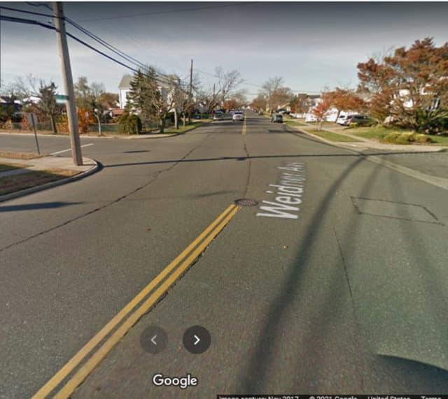 Nassau Road and Weidner Avenue in Oceanside.