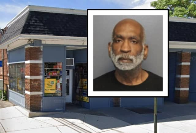 Elvis Holder, 53, of East Orange, threatened to torch a Bloomfield convenience store without cash from the register, police said.