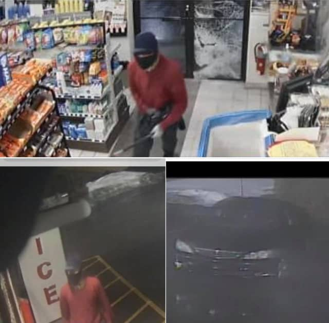 Police in Northampton County are seeking the public's help identifying a man they say burglarized a gas station early Monday morning.