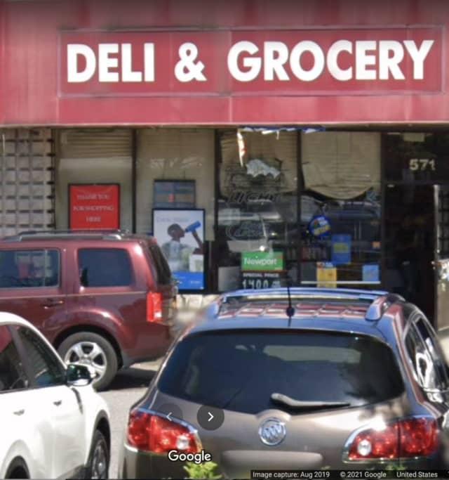 The deli located in Amityville.