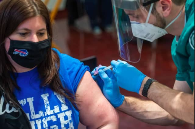 Nassau County is leading the way in vaccinations in New York.