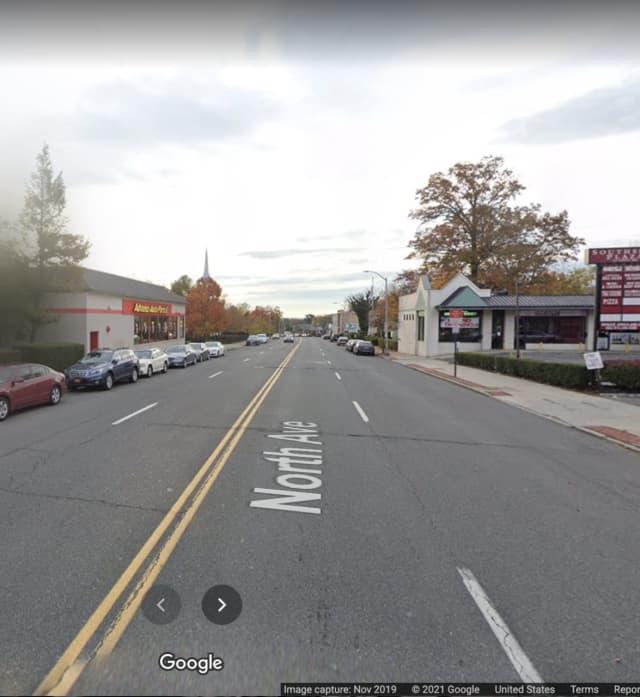North Avenue in New Rochelle.