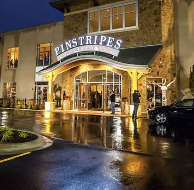 Pinstripes in Norwalk offers a combination of a night of fun bowling or playing bocce ball with made-from-scratch food.