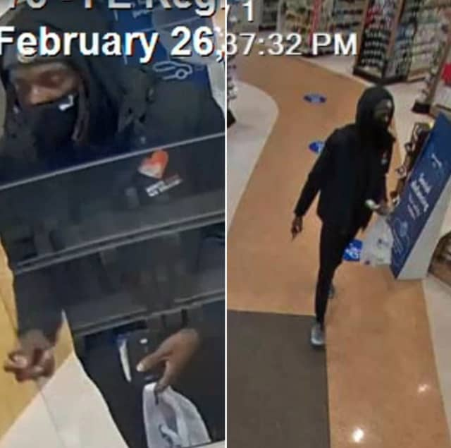 The man pictured above used a stolen credit card at Rite Aid in 7th Street in Allentown around 5:30 p.m. on Feb. 26, Bethlehem Township police said.