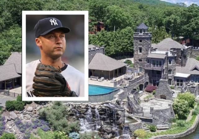 Derek Jeter's Greenwood Lake castle is on the market for $12.75 million.