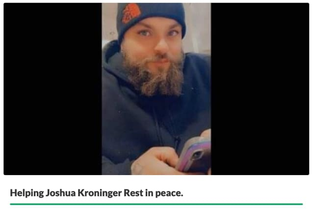Lehigh Valley native and father of three Joshua Allen Kroninger died Monday, March 15 after struggling with addiction for many years. He was 32.