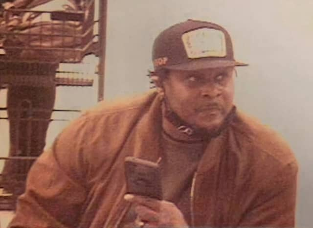 The man pictured above is accused of walking out of Wegmans in Hanover Township with a shopping bag full of unpaid groceries and fleeing in a Mercedes Benz, police said.