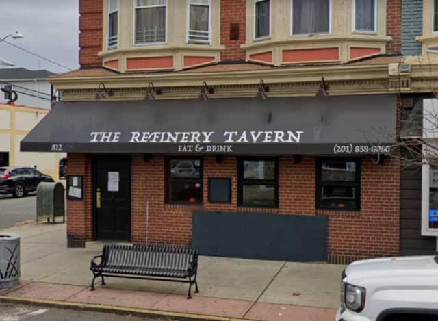 The incident occurred outside of the Refinery Tavern in Bayonne