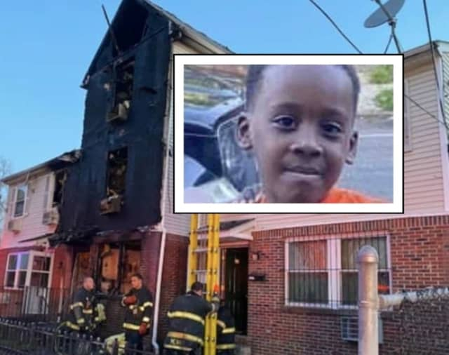 Saahir Keiron Hartfield died in Newark's Astor Street fire Thursday.