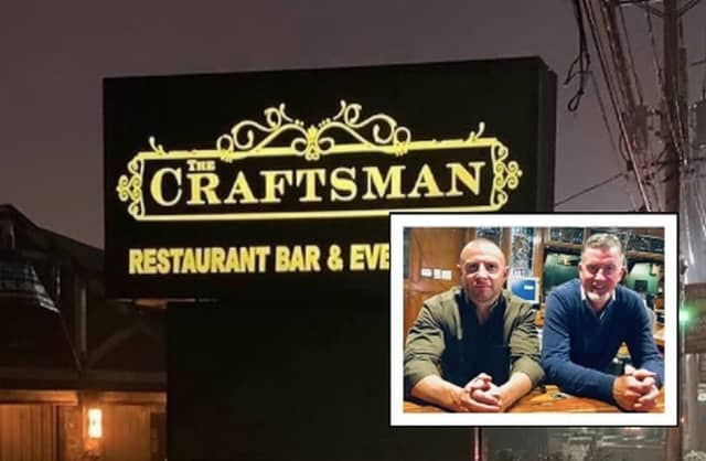David Casey and Philip Quilter are bringing The Craftsman to Maple Avenue in Fair Lawn.