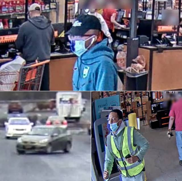 Police in Northampton County are seeking the public's help identifying the men they say tried to steal $5,000 worth of merchandise from Home Depot.