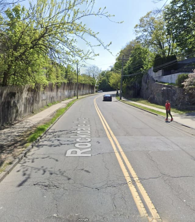 Shots were fired on Rockdale Avenue in New Rochelle, police said.