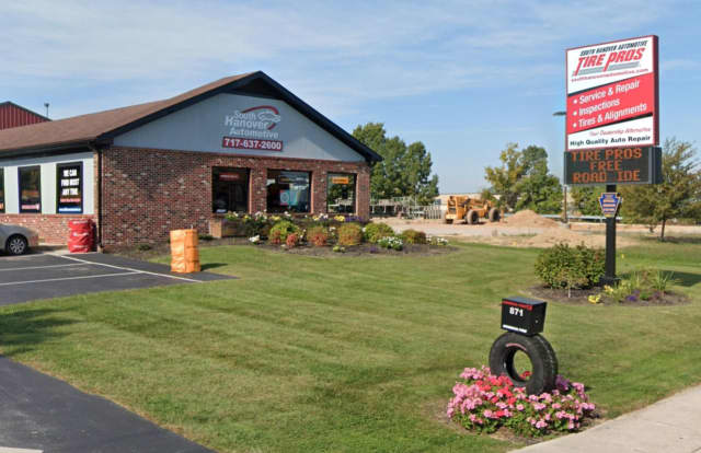 South Hanover Automotive Tire Pros in Hanover  is offering free repairs to local customers whose cars have been damaged by spikes thrown in the road.