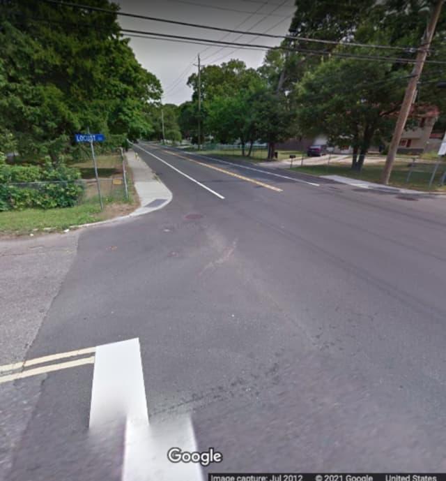 Islip Avenue and Locust Street in Central Islip.