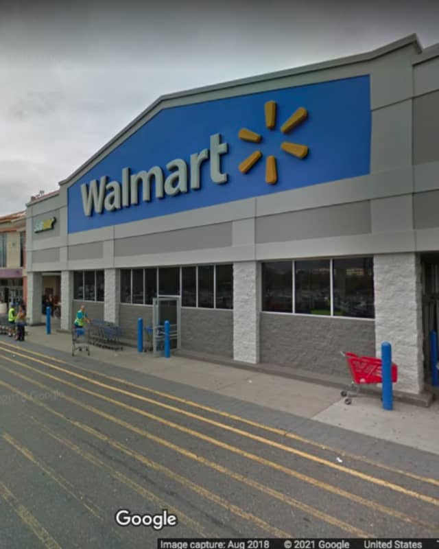 The Walmart, located at 2465 Hempstead Turnpike in East Meadow.