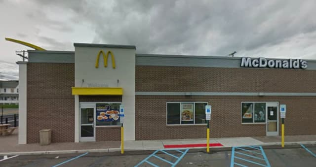 The McDonalds along Route 35 in Neptune Township.