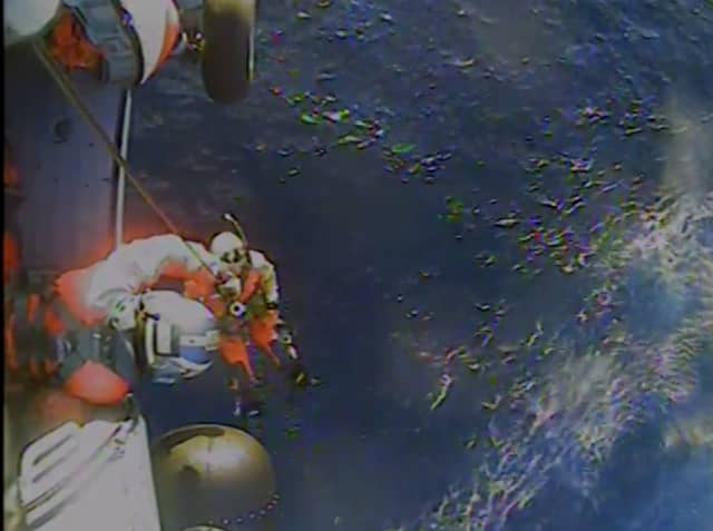 A look at the rescue operation off Cape Cod.