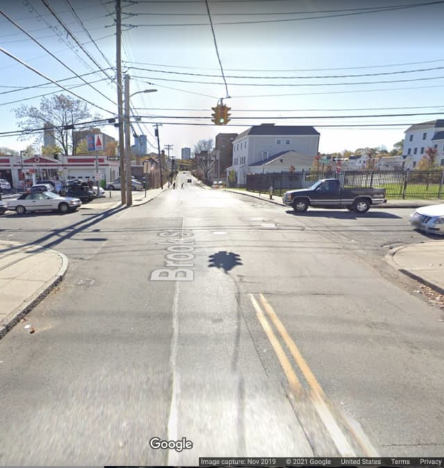Horton Avenue and Brook Street in New Rochelle.