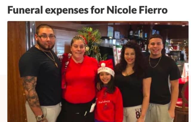Nicole Fierro and family