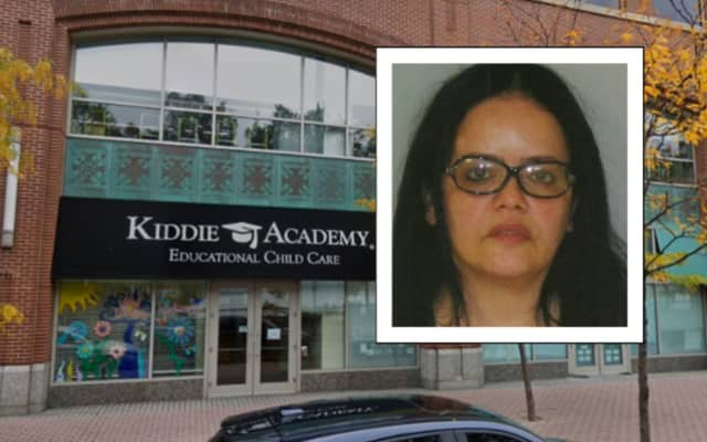 Dina Camacho was employed by Kiddie Academy in Hoboken at the time of the incident, authorities said.