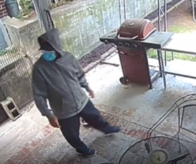 Police are seeking the public's help identifying a person who was caught on surveillance footage trespassing onto the back porch of a Bethlehem home Thursday morning.