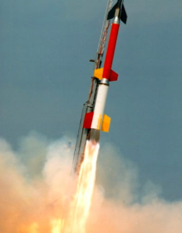 NASA plans a launch of this rocket from its Wallops Flight Facility in Virginia.