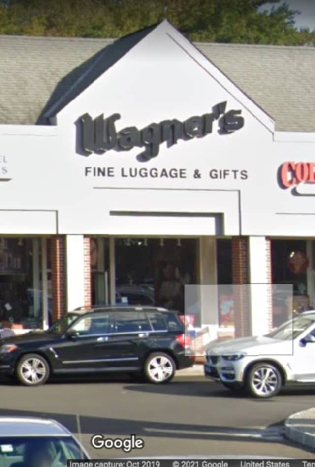 Wagner's Fine Luggage & Gifts on High Ridge Road in Stamford.