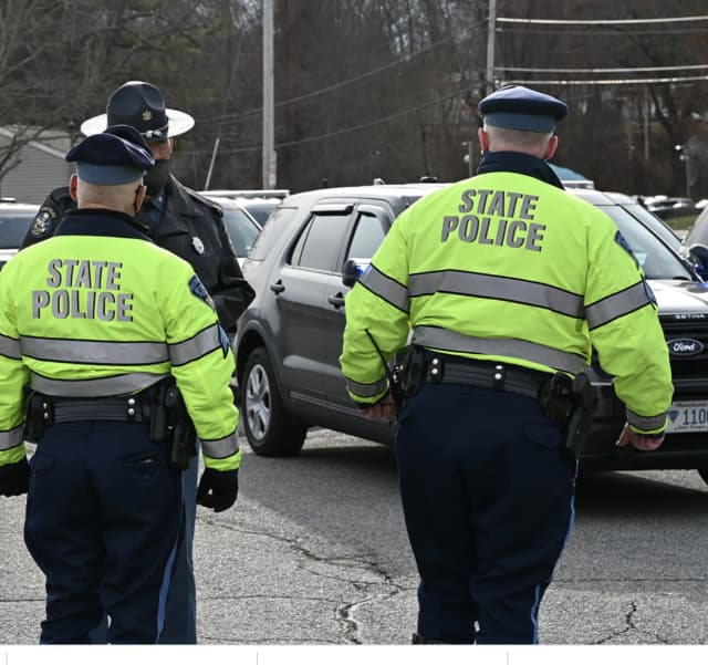 A man wanted for a double shooting in Worcester was nabbed by state police along with Worcester officers.