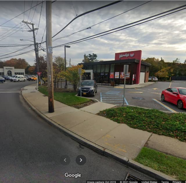The Wendy's at 1210 East Jericho Turnpike in Huntington.