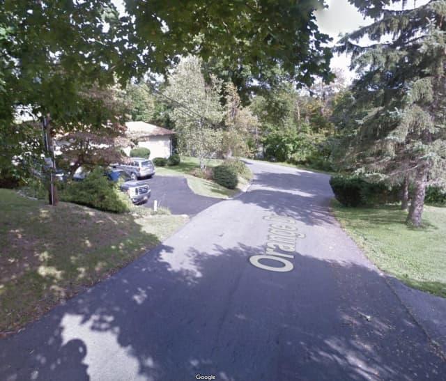 Orange Drive in Lincolndale near Lake Shore Drive North.