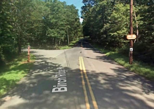 Birch Ridge Road near Shannon Road in Hardwick Township